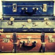 Old suitcase — Stock Photo