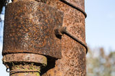 Old rusty steel — Stock Photo