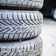 Tires of car — Stock Photo #34784311