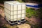White water tank — Stock Photo