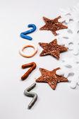 Yeni yıl 2014 — Stok fotoğraf