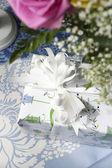 Plantilla presente floral — Foto de Stock