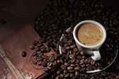Elegant espresso — Stock Photo