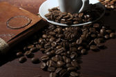 Closeup coffee — Stock Photo
