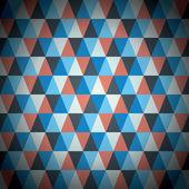 Moderní trojúhelník vzor vektorové pozadí — Stock vektor