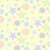 Bezešvé vzor s květinami — Stock vektor