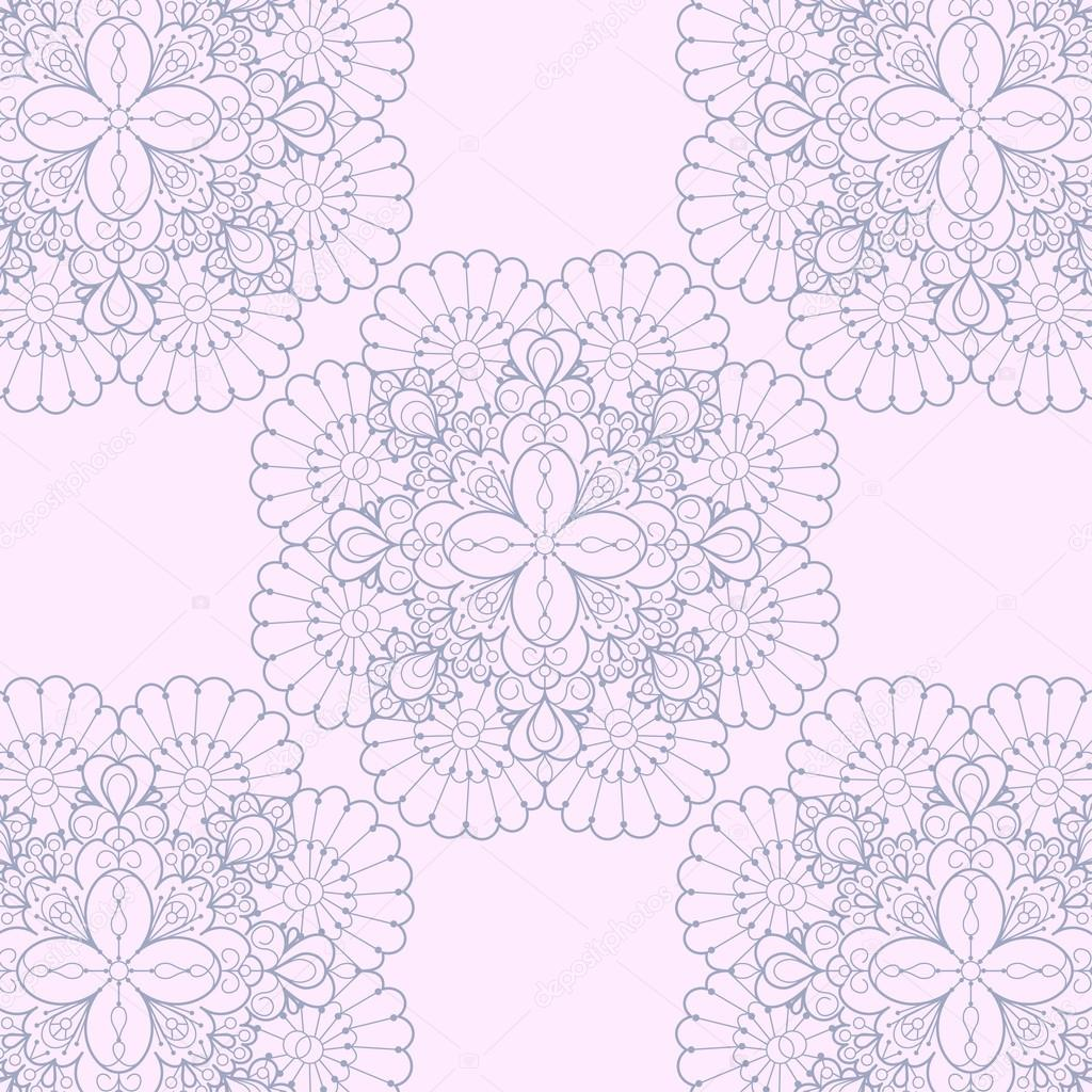 Seamless lace background. Romantic ornate lace pattern — Stock Vector #14142020