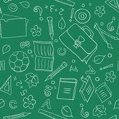 Fond de l'école sans soudure — Vecteur