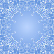 Background with lace ornament — Imagen vectorial