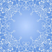 Background with lace ornament — Vecteur