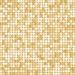 Stock Vector: Seamless background with shiny golden paillettes
