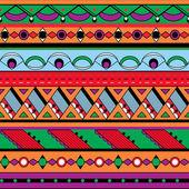 无缝的种族背景 — 图库矢量图片