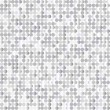 Seamless background with shiny silver paillettes — Vector de stock #21472613