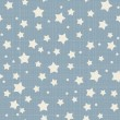 Stock Vector: Seamless stars pattern