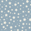 Stockvector : Seamless stars pattern