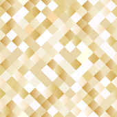 Seamless background with shiny golden squares — Stock Vector