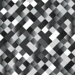 Vettoriale Stock : Seamless background with shiny silver squares
