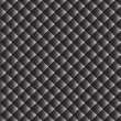 Seamless monochrome geometric pattern — Stock vektor