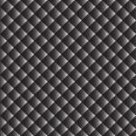 Seamless monochrome geometric pattern — Stock Vector