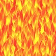 Seamless fiery pattern — Stockvectorbeeld