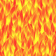 Seamless fiery pattern — Stock vektor