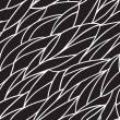 Seamless black and white pattern — Stok Vektör