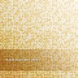 Seamless background with shiny golden paillettes — Stock vektor