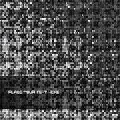 Fondo transparente con brillantes lentejuelas — Vector de stock