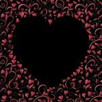 Heart-shaped frame — Stock Vector #30141263