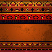 Seamless ethnic background — Vector de stock
