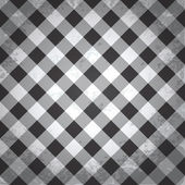 Grunge checkered background — Vector de stock