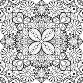 Seamless lace background — Stock Vector