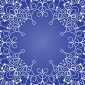 Background with lace ornament — Stock Vector