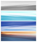 Set of abstract background — Stock Vector