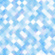 Seamless background with shiny blue squares — Stock Vector #48835959