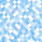 Seamless background with shiny blue squares — Stockvektor