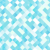 Seamless background with shiny blue squares — Stock Vector