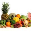 Royalty-Free Stock Photo: Group of asorted fruits and vegetables