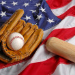 Stock Photo: Baseball in America