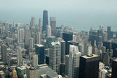 Chicago scene from the Sears Towers — Stock Photo