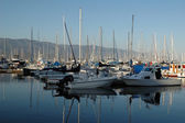 Boats in Santa Barbara — Stock Photo