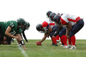 Football game — Stockfoto