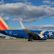 Stock Photo: Southwest Airlines Airplane on theTarmac