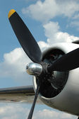 Propeller close up — Stock Photo