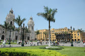 Downtown in Lima Peru