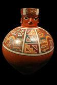 Peruvian pre inca ceramic — Stock Photo