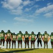 Football players — Foto Stock