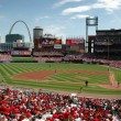Stock Photo: Busch Stadium in Saint Louis