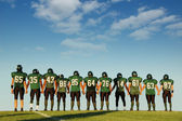 Football players — Stockfoto