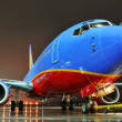 Stock Photo: Southwest Airlines aiplane at departing gate